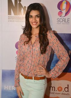 #Vogue India's 2014 Face To Watch Out For: Kriti Sanon.  Sure to be a Socialgiri covered celeb in the future.