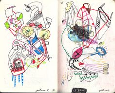 i love looking at other people's sketchbooks