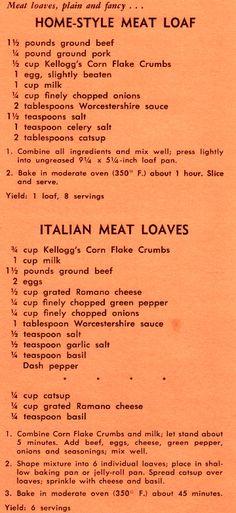 Kay Kelloggs Corn Flake Crumbs Cookery