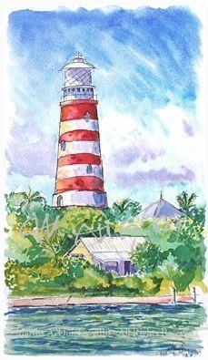Hopetown Lighthouse, Bahamas