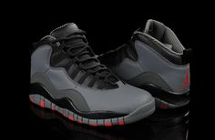 b5d02cf741721c Air Jordan 10 Cool Grey Infrared Black  109.99