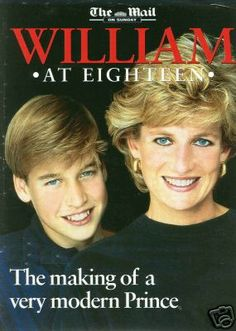 Princess Diana & Prince William. Lose up to 40 lbs in 60-days at: www.TexasTrim.net