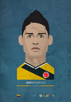 Illustration of some star from Brasil 2014 FIFA World Cup!