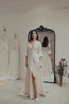 f03c6c77d3490 Find Aces Wedding Dress by Brides by Sarah Seven Available in 3 boutiques  in Canada: The Bridal Boutique (Calgary), White: Montréal (Montreal), ...