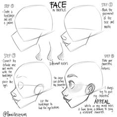 How to sketch a head by Pernille Character Design Tutorial Study Concept Art Il. How to sketch a head by Pernille Character Design Tutorial Study Co Drawing Techniques, Drawing Tips, Sketch Drawing, Drawing Ideas, Face Drawing Tutorials, How To Sketch, Dog Drawing Tutorial, Beginner Drawing, Sketching Tips