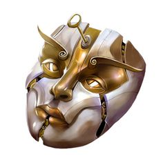 A Bronze Clockwork Mask that the leader of the Red Brands, a wizard named Glasstaff, offered Topple in exchange for a favor
