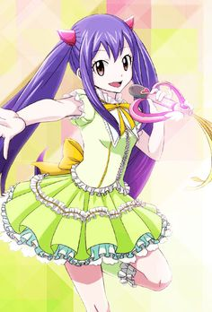 Wendy magical girl