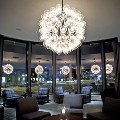 "living or dining room. Taraxacum 88 Modern Pendant Lamp designed by Achille Castiglioni - 31.5"" dia."