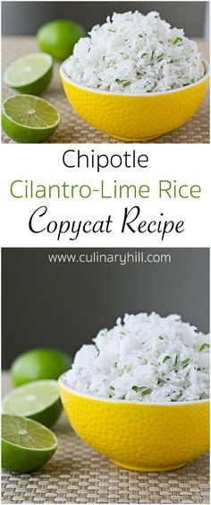 Learn the secrets to making Chipotle Cilantro-Lime Rice at home. It all starts with the right type of rice cooked in an unusual way. Pinned over 175,000 times!!!
