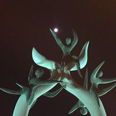 Play the moon.