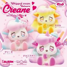 New Arrivals - DotDotBang Store provides wide variety of affordable squishies, stationery and accessories. New Squishies, Ibloom Squishies, Charms Lol, Cuddle Buddy, Cute Dragons, Kawaii Shop, Little Sisters, Sanrio, Whipped Cream