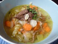 Beef and Cabbage Soup (AIP, Paleo, GAPS, SCD)