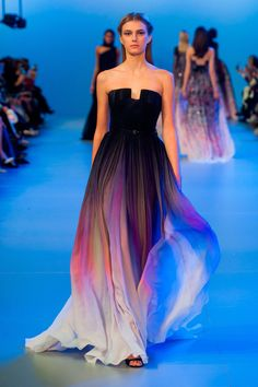 56 photos of Elie Saab at Couture Spring 2014.
