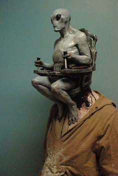 Halloween: Alien Mind Control Halloween Mask
