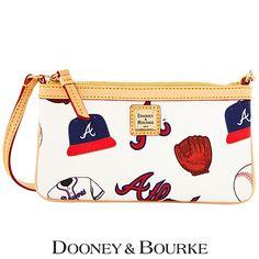 Atlanta Braves Large Slim Wristlet by Dooney & Bourke - MLB.com Shop