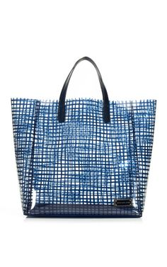 Marc by Marc Jacobs Accessories Carpathian Blue Checkmate Tote