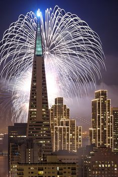 San Francisco New Year's Fireworks 2007 | Flickr - Photo Sharing!