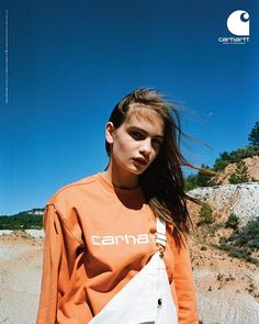 @ninamarker for @carharttwip new SS18 campaign styled by @dfsablon