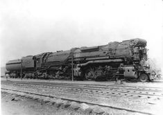This Chesapeake and Ghio 2-8-8-2 #2585 was a H-7A Class Baldwin engine built in 1920 it had 4 23x33 cylinders. It was sold to the Untion Pacific Railroad i July 1945 --- USA