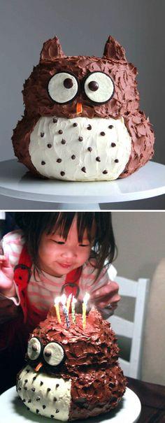 Alleesüßester Eulen-Kuchen :)