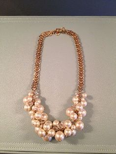 JCrew Pearl Necklace | eBay