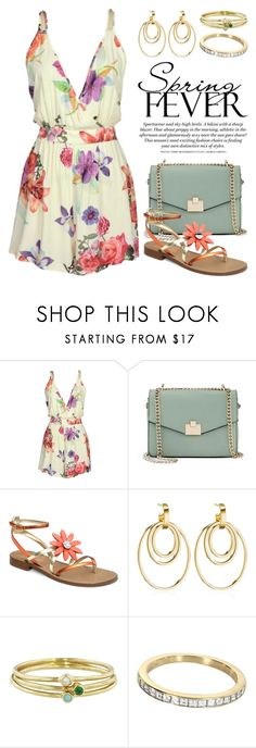 """""""Bright Side Of Flowers 3129"""" by boxthoughts ❤ liked on Polyvore featuring Jennifer Lopez, Vita Fede, Jennifer Meyer Jewelry and Tiffany & Co."""