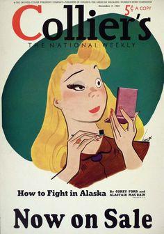 Retro Illustration, Graphic Design Illustration, Graphic Art, Vintage Magazines, Retro Art, Vintage Advertisements, Aurora Sleeping Beauty, Character Design, Drawings