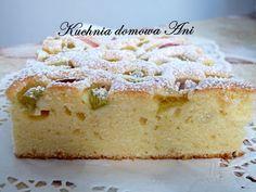 Kuchnia domowa Ani: Szybkie sezonowe ciasto na oranżadzie Krispie Treats, Rice Krispies, Vanilla Cake, Cheesecake, Food, Cheesecakes, Essen, Meals, Rice Krispie Treats