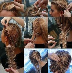 Fishtail, i know how to fish tail. but not like this. i NEED to learn