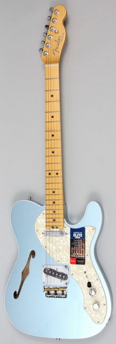 Fender American Elite Telecaster Thinline Electric Guitar