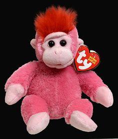 Charmer - gorilla - Ty Beanie Babies Ty Beanie Boos, Beanie Babies, Ty Bears, Ty Plush, Baby Gorillas, Childhood, Photograph, Teddy Bear, Babys