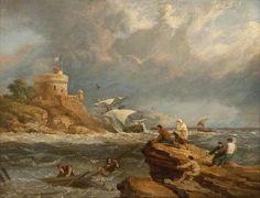 Image from https://mydailyartdisplay.files.wordpress.com/2013/01/rocky-seascape-with-shipwreck-by-clarkson-frederick-stanfield.jpg.