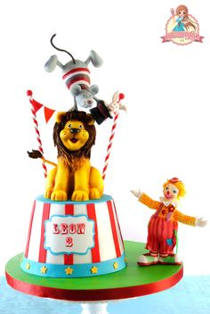 Leon's Circus Birthday Party