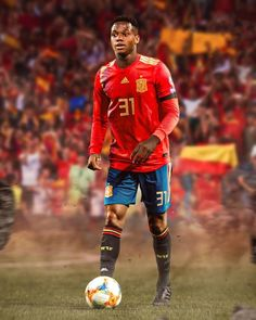 FIFA have cleared Barcelona starlet Ansu Fati to represent Spain Soccer Match, Football Match, Football Players, Messi Vs Ronaldo, Cristiano Ronaldo, Fifa, Mundial Sub 17, Spain Football, Football Updates