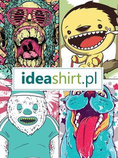 Szczena opada? Nic dziwnego. ;-) U nas mamy sporo inspirujących pomysłów. www.ideashirt.pl Zapraszamy!