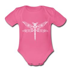 dragonfly clothing for babies | dragonfly Baby One-piece | Spreadshirt | ID: 22386230