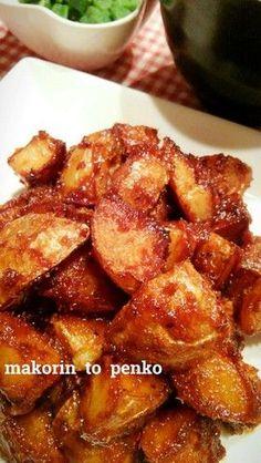 Miso Potato 食べたら止まらない*じゃがいもの味噌炒め!