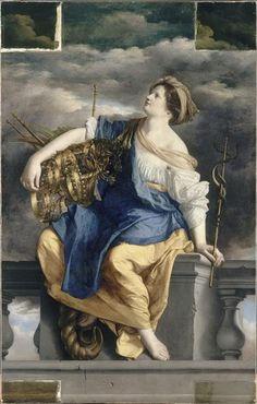 Orazio Gentileschi, The Felicite Publique Triomphant Des Dangers, 1623-1625