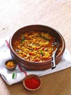 Plateful: Pavakka Mulakittadu — Sour and Spicy Bitter Melon Curry — Karela from Kerala
