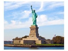 The Statue of Liberty on Ellis Island in New York City was dedicated on October Ellis Island, Photo Statue, Places To Travel, Places To See, Time Travel, Photo New York, Liberty New York, New York Attractions, Voyager Loin