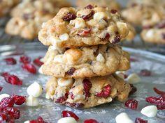 Oatmeal Cranberry White Chocolate Macadamia Chip Cookies We call these Hooty Creek Cookies.