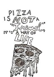 I'm all about the pizza life