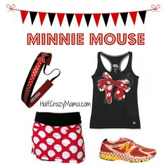 Minnie Mouse- Easy Disney Running Costumes