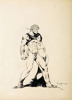 Get Ready To Appreciate The Fantasy Art of Frank Frazetta on a Whole New Level…