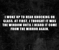bwahahahahaha creepy 2 sentences.