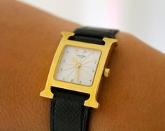 a covetable piece of wrist candy - hermes watch
