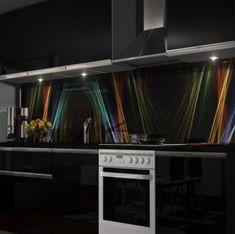 Küchenrückwand Fliesenspiegel Spritzschutz Wasser Blasen Splash selbstklebend