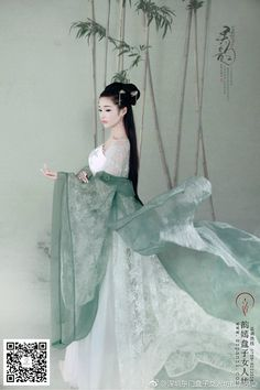Geisha, Most Beautiful Dresses, Unique Dresses, Hanfu, Traditional Fashion, Traditional Outfits, Pacific Girls, Chinese Drawings, White Kimono