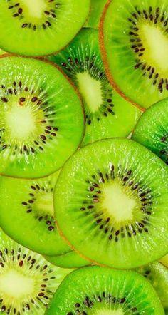 Aesthetic Colors, Aesthetic Food, Food Wallpaper, Iphone Wallpaper, Kiwi, Image Fruit, Fruits Photos, Fruit Photography, Green Fruit