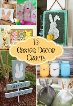 After looking at all of the Easter treats that I wanted to make my family it really got me in the mood to decorate for the holiday. Instead of spending loads of money on decorations that will only be up for a short time, why not make them!? All of these ideas are cheap and … #DIYDecor
